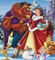 Belle and beast celebrate christmas 6485.jpg